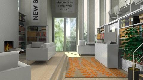Modern Library - Modern - by cheyjordan