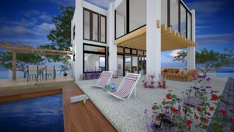 Backyard - Modern - Garden  - by Imdabadgu