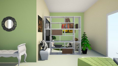 Lucky Charm_Part VI - Minimal - Living room  - by Nurul Yunita Sari Ginting