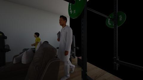 Gym - Retro - by DDaviddd