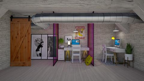 artistic_social distanced - Office  - by belly bel bel