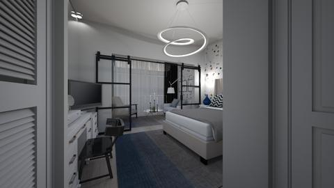 hotel room suite - Bedroom - by peterlo