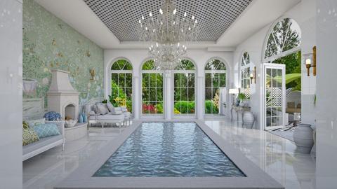 Pool Pavilion 11 - Garden  - by Fofinha