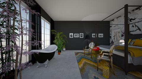 Industrial plan - Bedroom  - by kissdottie