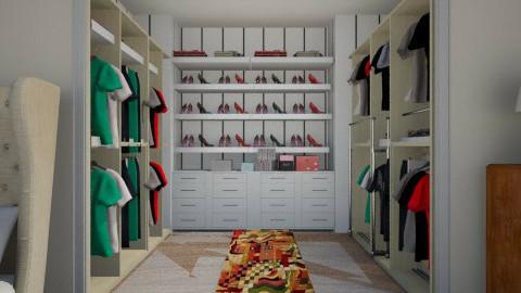 quarto com closet - Bedroom - by Kasia Zacharska