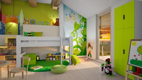 Jack and the Beanstalk - Global - Kids room  - by Mandine