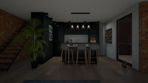 kitchen 3 - Modern - Kitchen  - by GIANNI VANCOMPERNOLLE