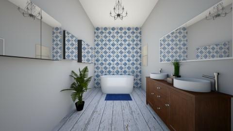 1 - Bathroom - by Asia Sendecka