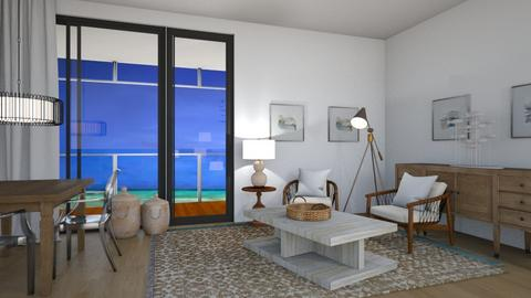 beach  - Living room  - by Cartell