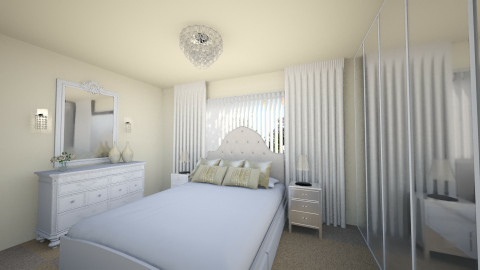 Frenchflair1 - Glamour - Bedroom  - by daisies4u2