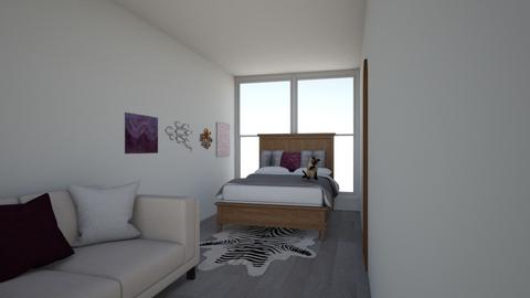 Container home bedroom - Modern - Bedroom  - by WibbleWobble