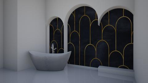 Art Deco Bath - Bathroom  - by jordynclark
