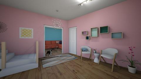 Modern Playful Hallway - Modern - by chocolatedonut71
