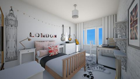 dream room 1 - Bedroom - by Julia Czeko Zienkiewicz
