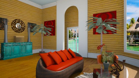 Colorful - Eclectic - Living room  - by Puppy Chow