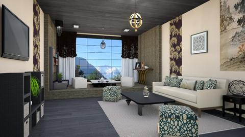 JAPANESE - Classic - Living room  - by zayneb_17
