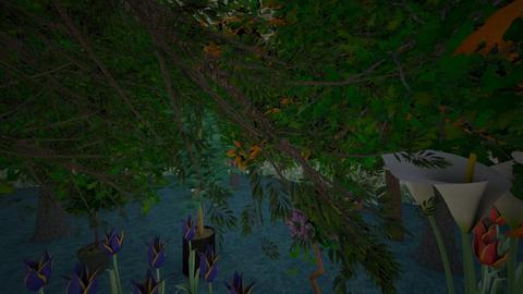 jungle room - Garden  - by tgsrev