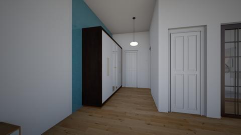 Bedroom entrance  - by saratevdoska
