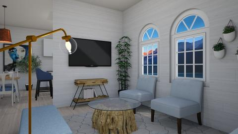 Minimalist Living Room - Modern - Living room  - by TortillaChip