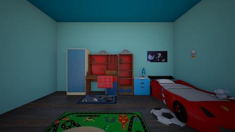 phong_ngu_cua_miiii - Kids room  - by CLINTON NGUYEN