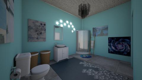 Bathroom 4 school - Bathroom  - by AcidicSmoothies