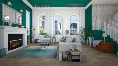 Stranger - Eclectic - Living room  - by Laurika