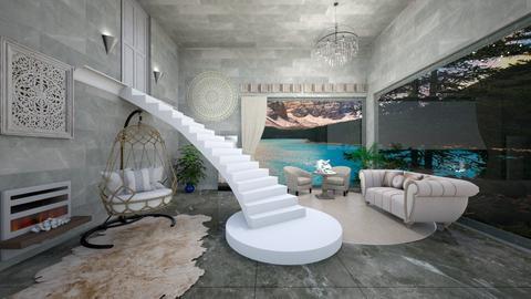 Scalinata - Living room  - by Sara87