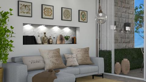RELAX CITY - Rustic - Living room  - by Galstyler