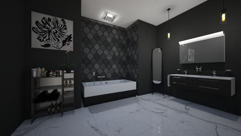 shadows - Bathroom  - by Barbie_Girl_