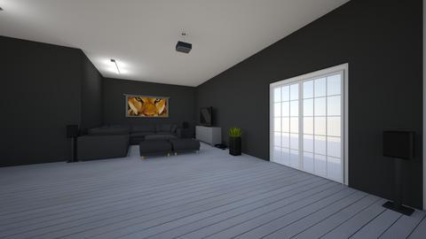 Mansion living room  - by saratevdoska