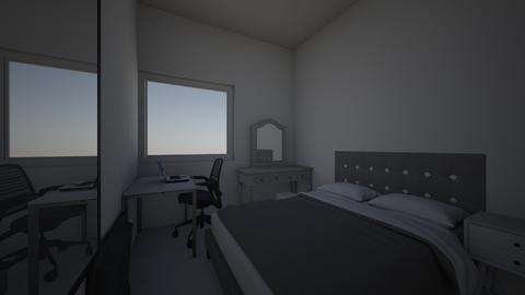 Futuro dormitorio - Vintage - Bedroom  - by Angie Mariby