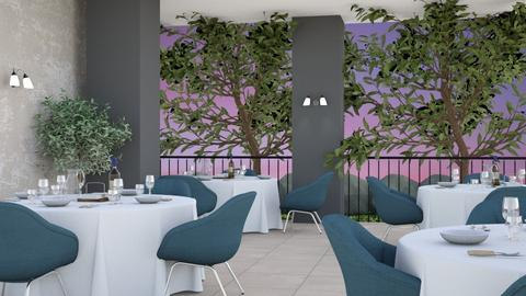 My restaurant 2 - Dining room  - by yellowAri