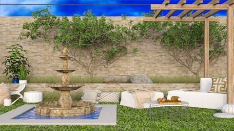 small patio - Modern - Garden  - by RimaNina