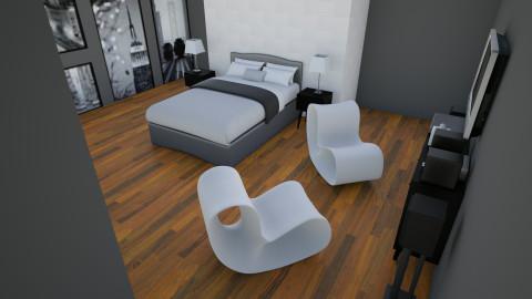 Room 3 - Modern - Bedroom  - by KMiangel