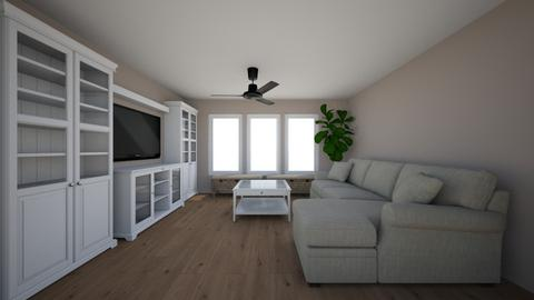 Crestwood - Living room  - by chrometoaster