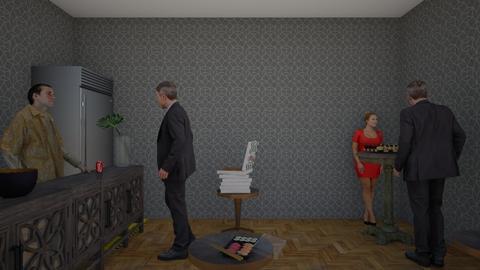 paty im office - Office - by Fazeakir