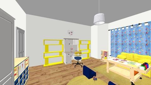 kids room 3 - Kids room  - by Lumy79