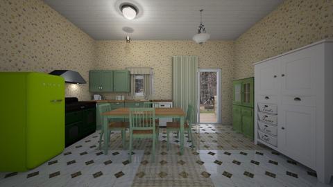 Vintage Kitchen - Kitchen  - by mspence03