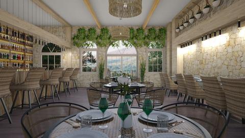 Restaurant - by milica tanurdzic