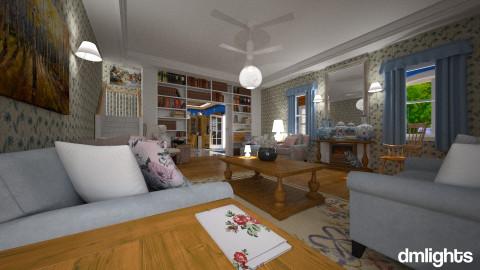 KountryTime - Rustic - Living room  - by DMLights-user-981898