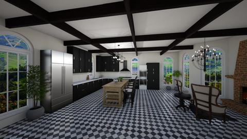 Modern French Mix - Modern - Kitchen - by Mari_Torrez01