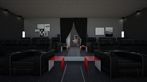 home cinema - by tigerlily_bel