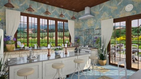 Design 121 Provence Farmhouse Kitchen - Kitchen  - by Daisy320
