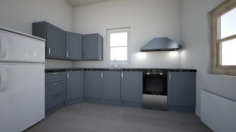 New Kitchen Layout  2 - Modern - Kitchen  - by Northernandnoted