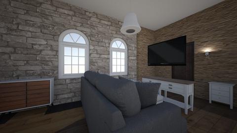 pokoj - Living room - by pietkun10