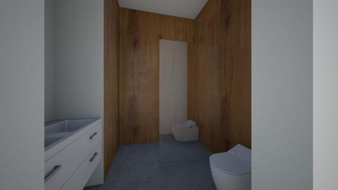 Guest Bathroom - Bathroom  - by handojin