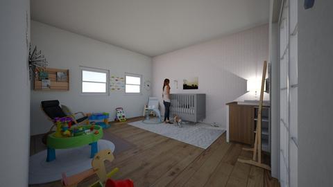 Baby Nursery - Modern - Bedroom  - by maggieweisner