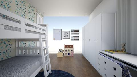 ROOM2 - Kids room  - by lorenaggor