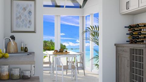 Beach Conservatory - Modern - Kitchen  - by millerfam