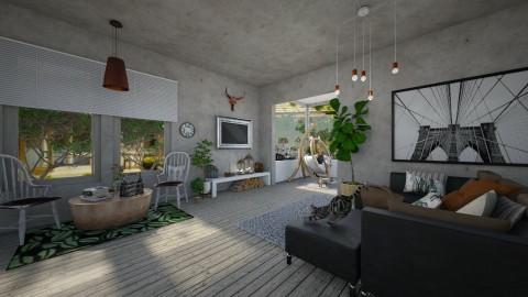 green - Living room - by beafreitasb